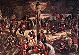 Jacopo Robusti Tintoretto Crucifixion [detail 1] painting